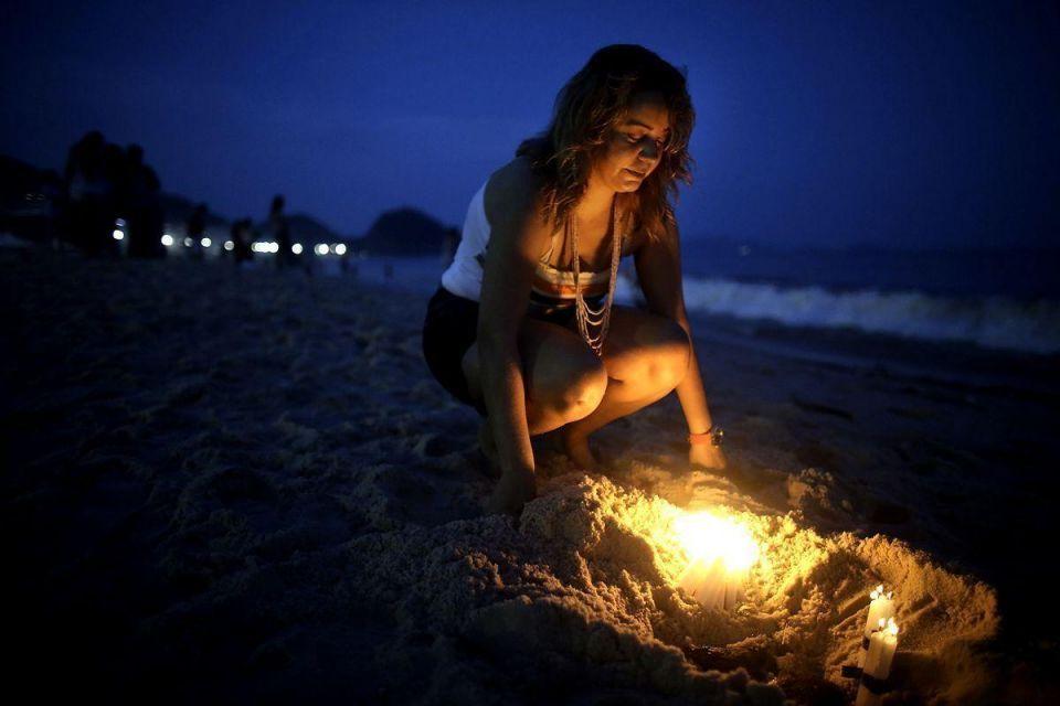Brazilian festival honours sea goddess