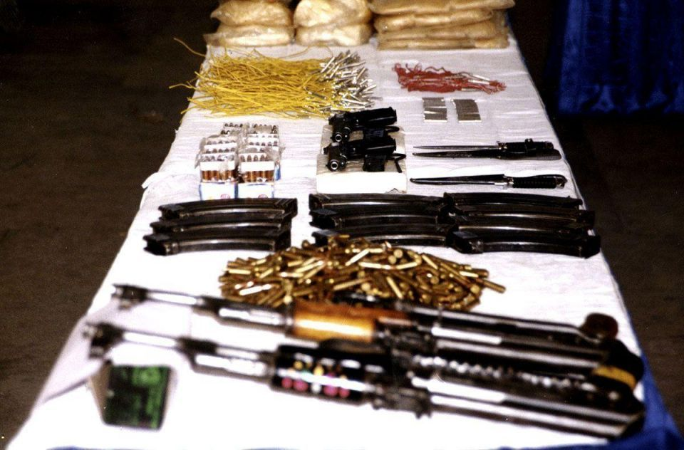 Bahrain seizes weapons haul en route from Iraq