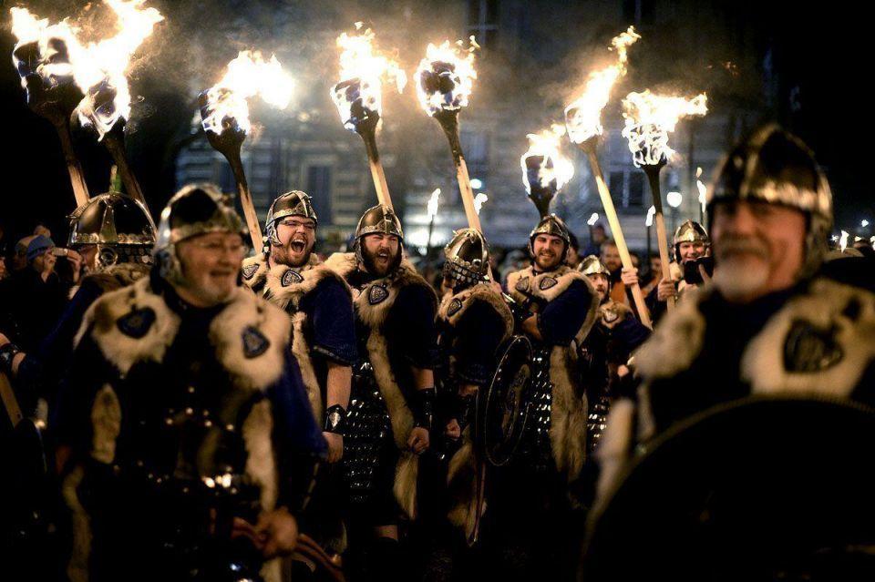 Torchlight procession begins Hogmanay