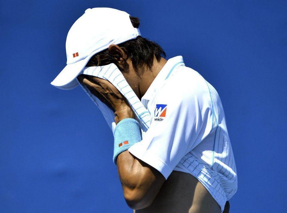 Top seed Kei Nishikori crashes out in Dubai