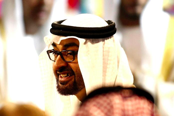 Abu Dhabi's Crown Prince has talks with Saudi's King Abdullah