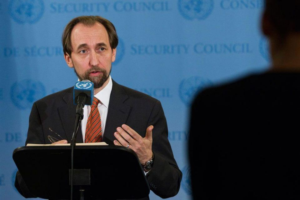 """New UN rights boss warns of """"house of blood"""" in Iraq, Syria"""