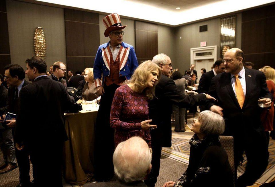 Trump addresses Lincoln Day Dinner