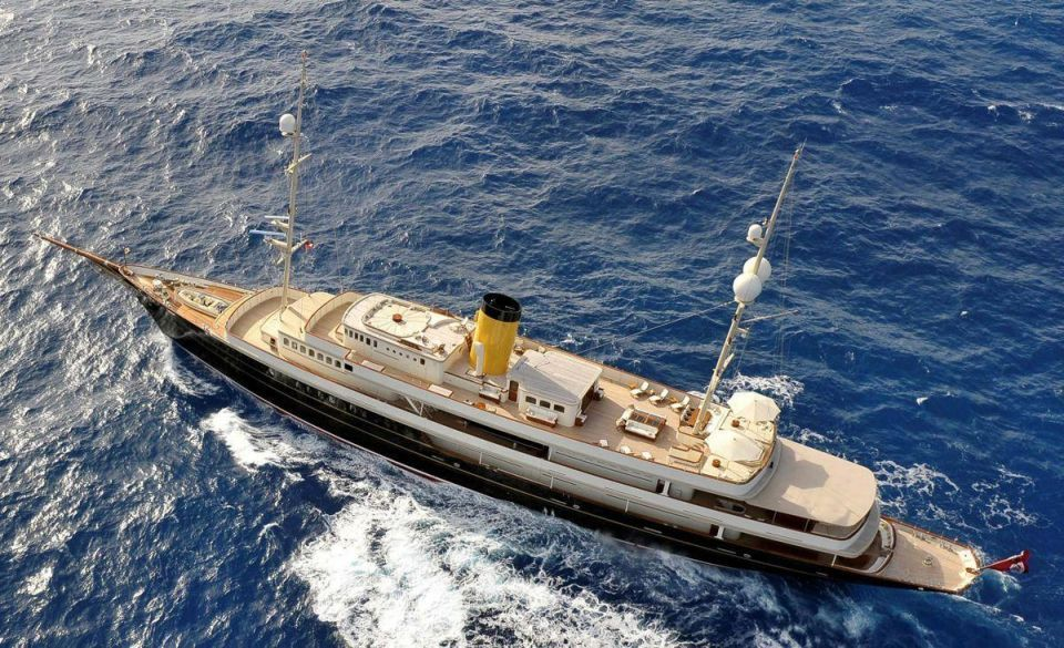 Revealed: The world's finest yachts for charter