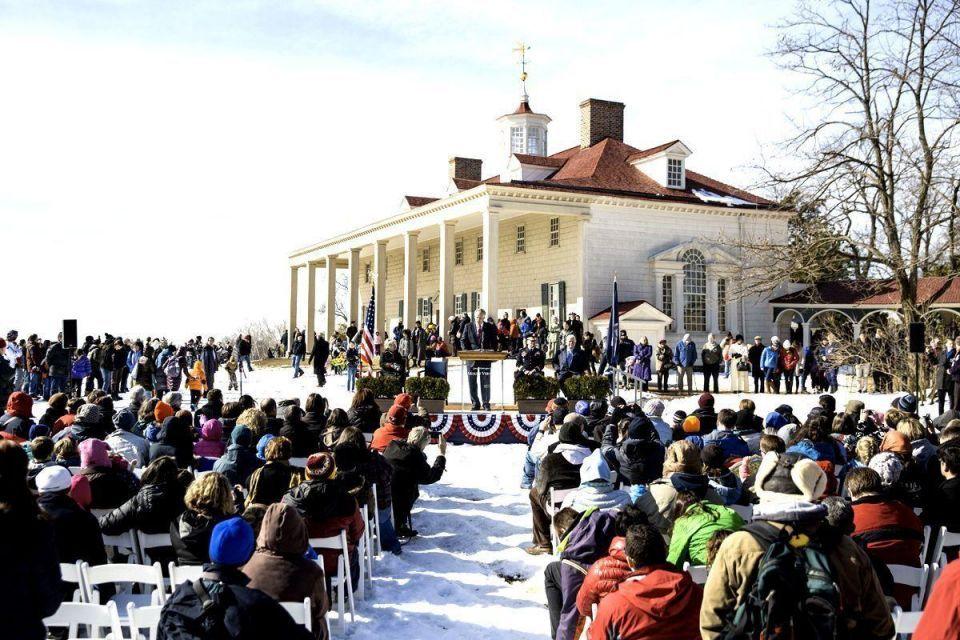 US celebrates Washington's birthday