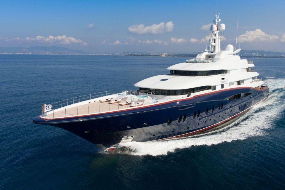 $305m superyacht Nirvana to go on display in Dubai