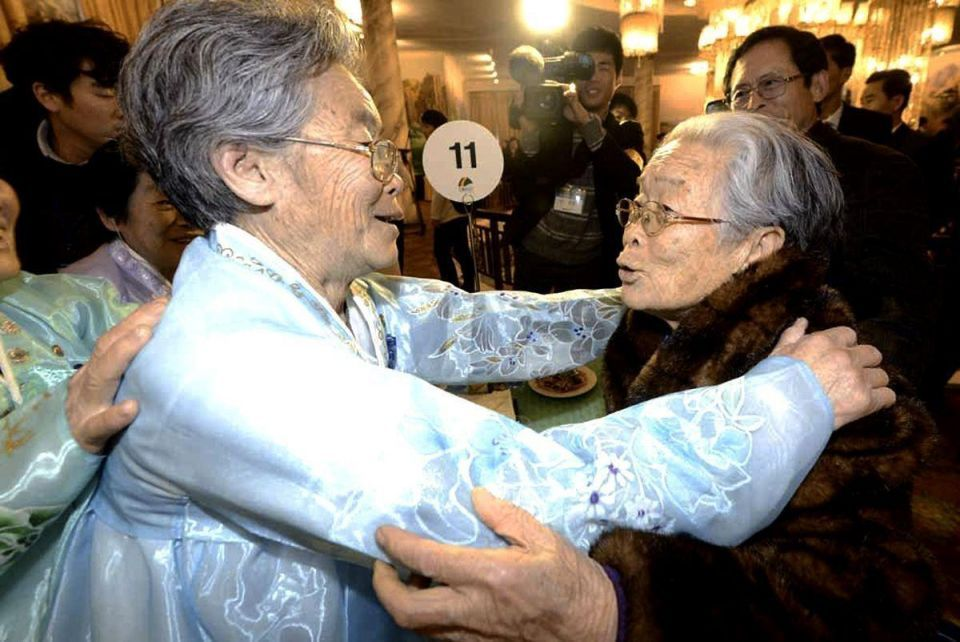 North and South Korea hold family reunions