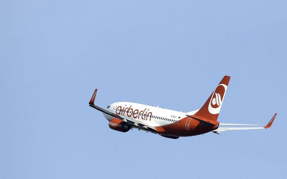 Etihad-backed Air Berlin drops lawsuit over airport delays