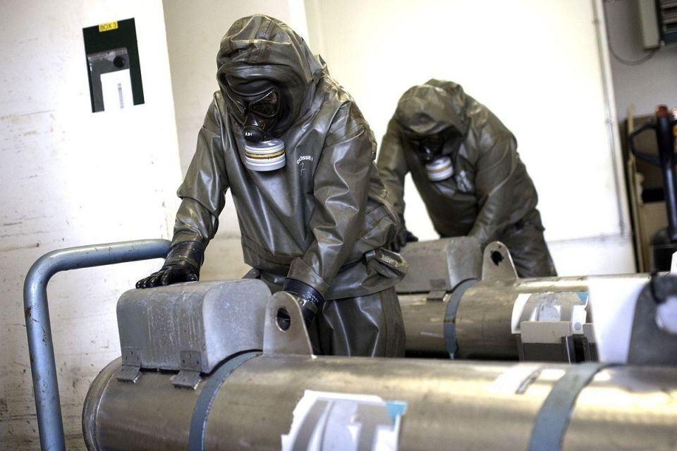 Germany company to destroy Syrian weapons