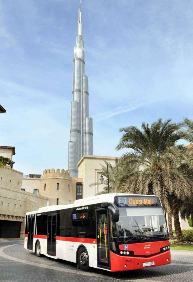 Dubai announces plan to run gas-powered bus trial