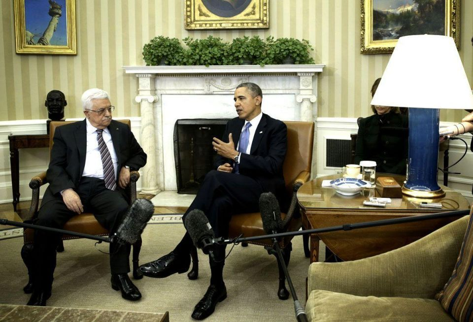 Obama meets Abbas at White House