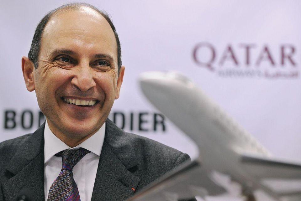 """Qatar's Al Baker says Heathrow noise gripes are """"excessive"""""""