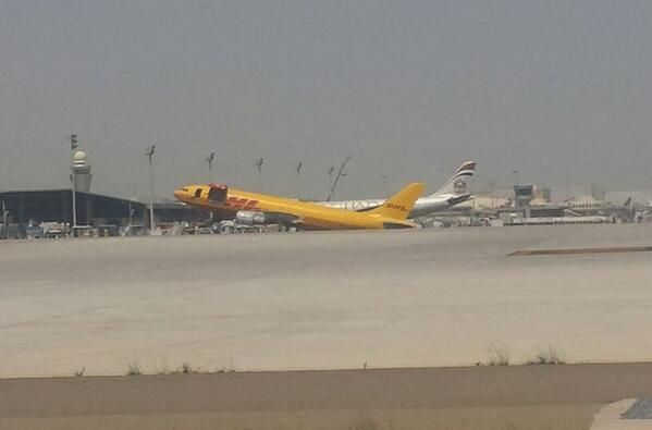 "Plane suffers ""nose up"" at Abu Dhabi airport"