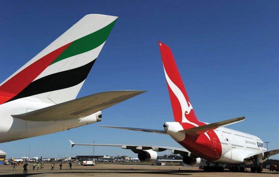 Emirates partner Qantas cancels Dubai-London flights