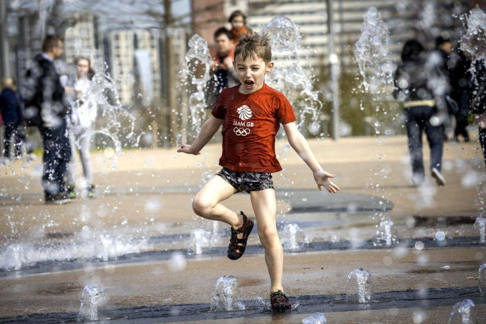 London's Olympic park opens to public