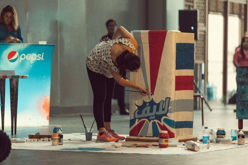 Street Art auction rocks DIFC's Art Beat