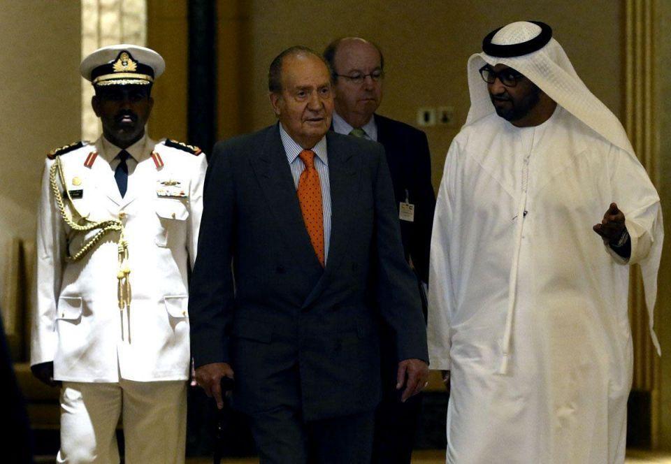 Spanish King visits UAE