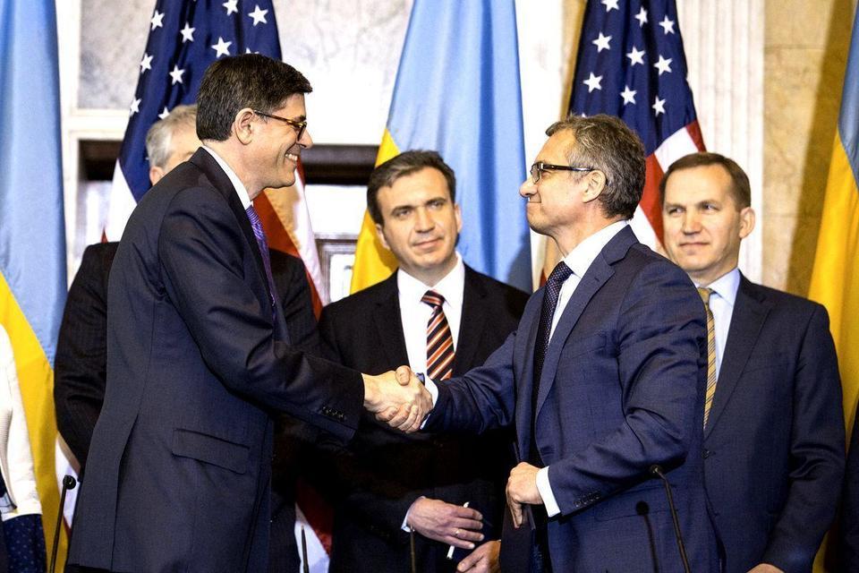 US, Ukraine sign $1bn aid deal