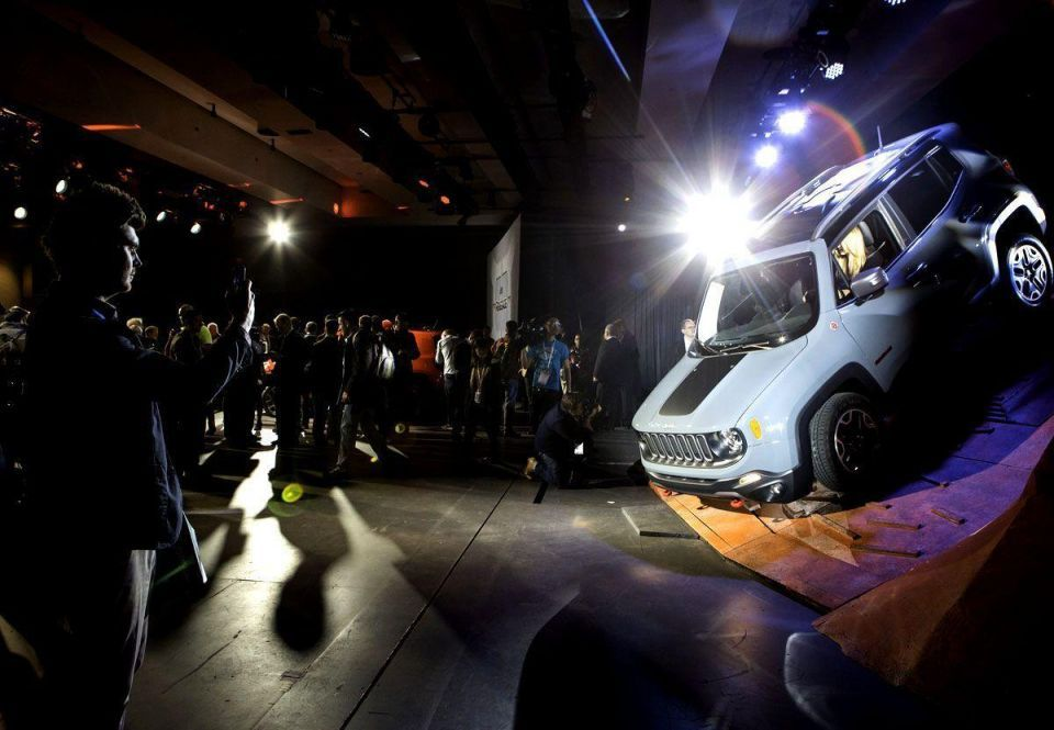 NY motor show opens to media