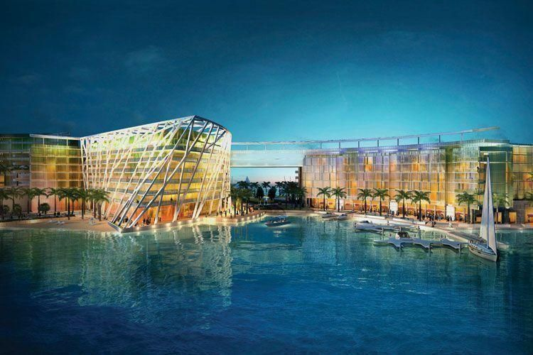 Building work starts on Abu Dhabi waterfront project