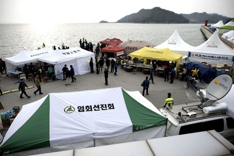 Search continues for ferry victims