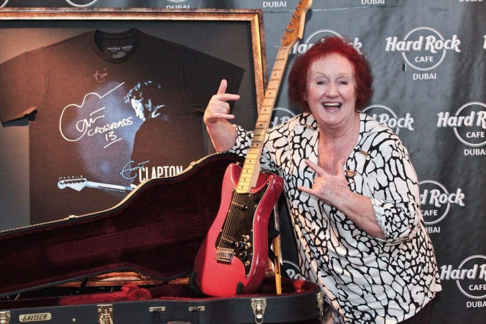 Five minutes with: Rita Gilligan, Hard Rock Cafe's oldest employee