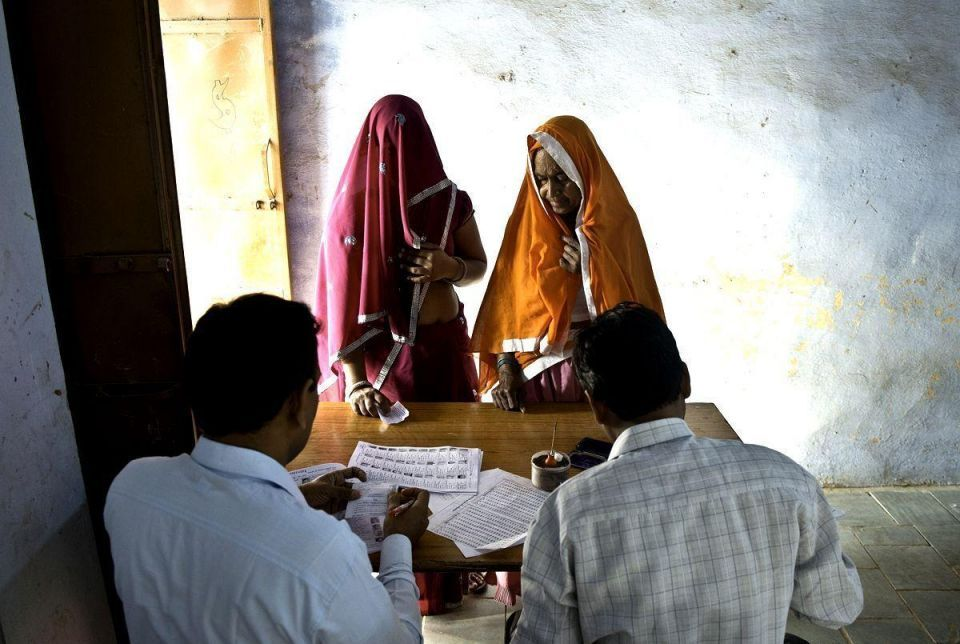 Elections continue throughout India