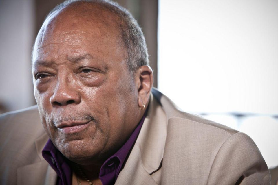 Five minutes with: Quincy Jones