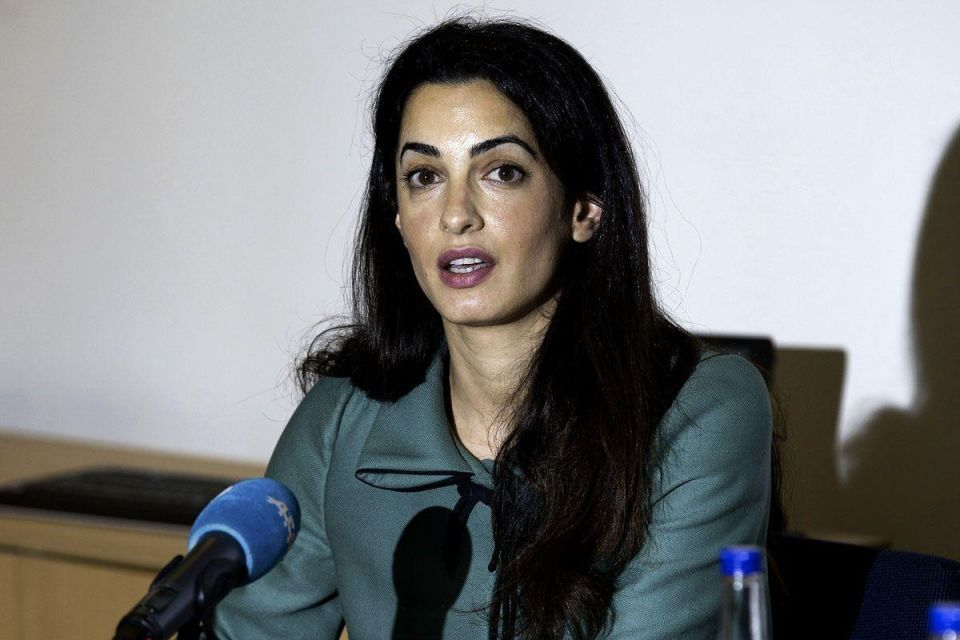 George Clooney's fiancée denies role in UN investigation of Gaza war crimes
