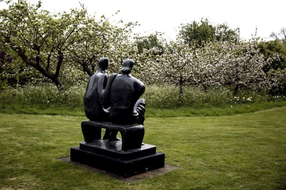 Artists take over sculptor's home