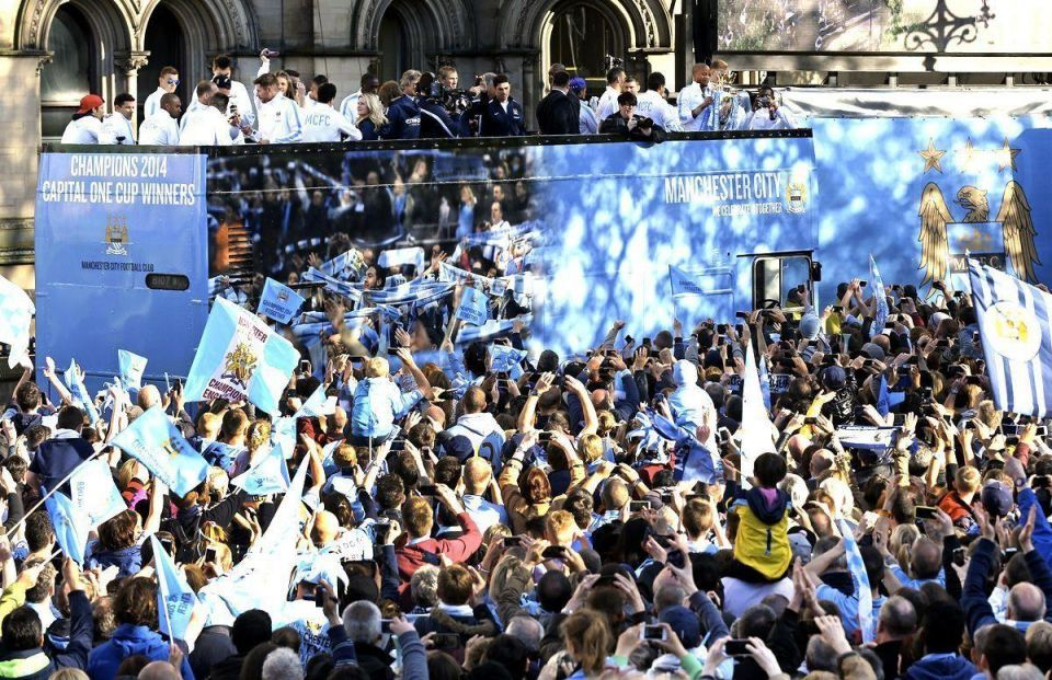 Gulf-backed Man City in victory parade