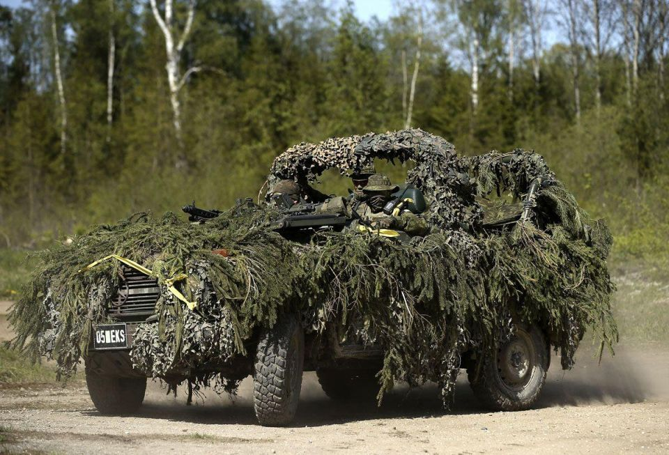 NATO holds Spring Storm exercise