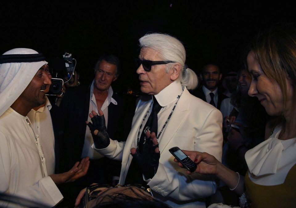 Five minutes with: Karl Lagerfeld
