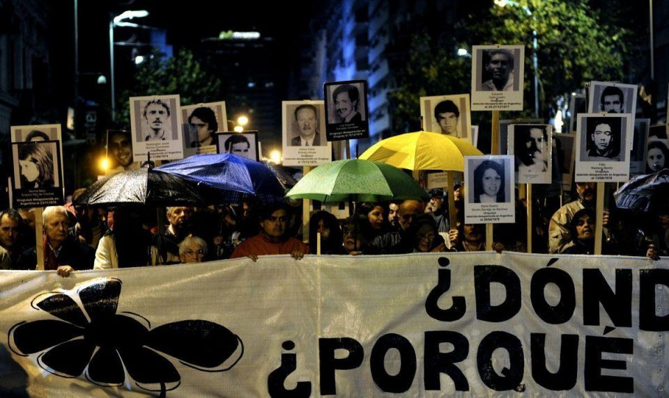Uruguayans march for 'disappeared'