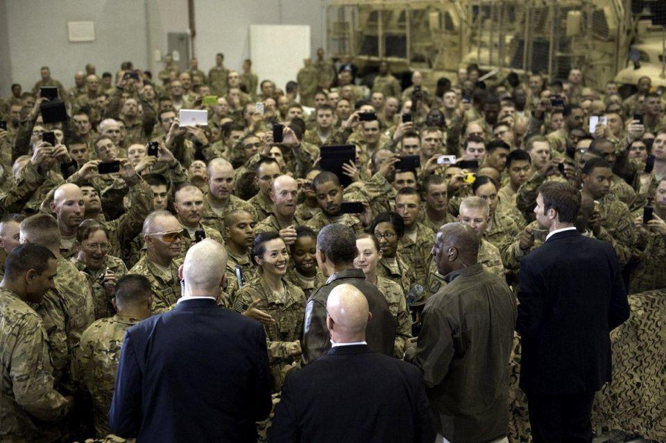 Obama's surprise Afghanistan visit