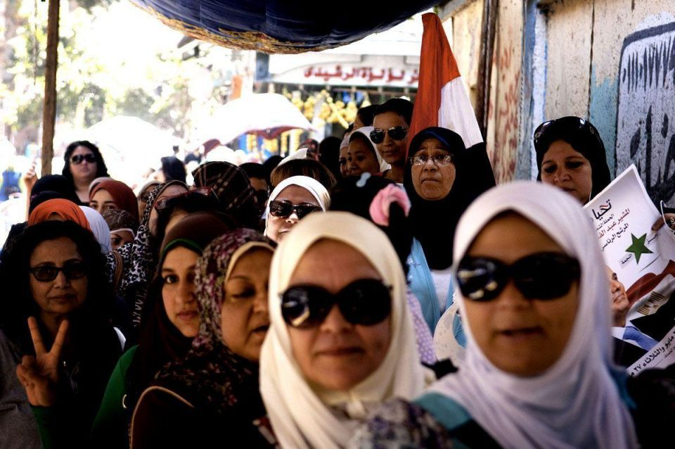 Presidential elections held in Egypt