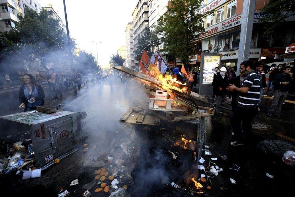 Turkey protests on Taksim anniversary