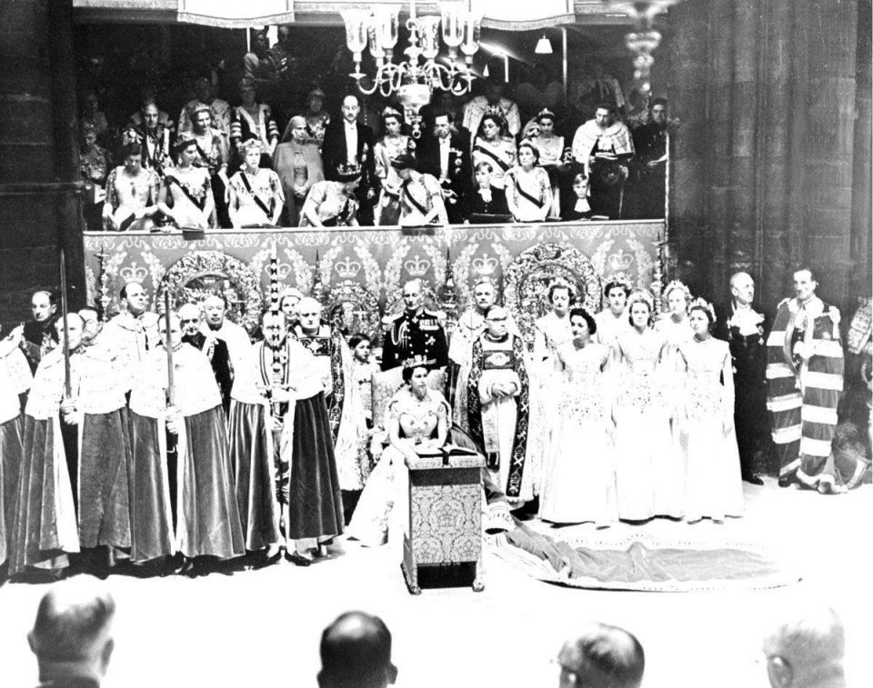 The 61st anniversary of the coronation of Queen Elizabeth II