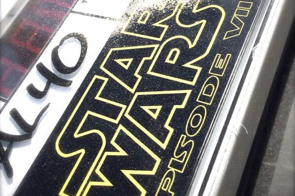 Star Wars images leaked from Abu Dhabi set