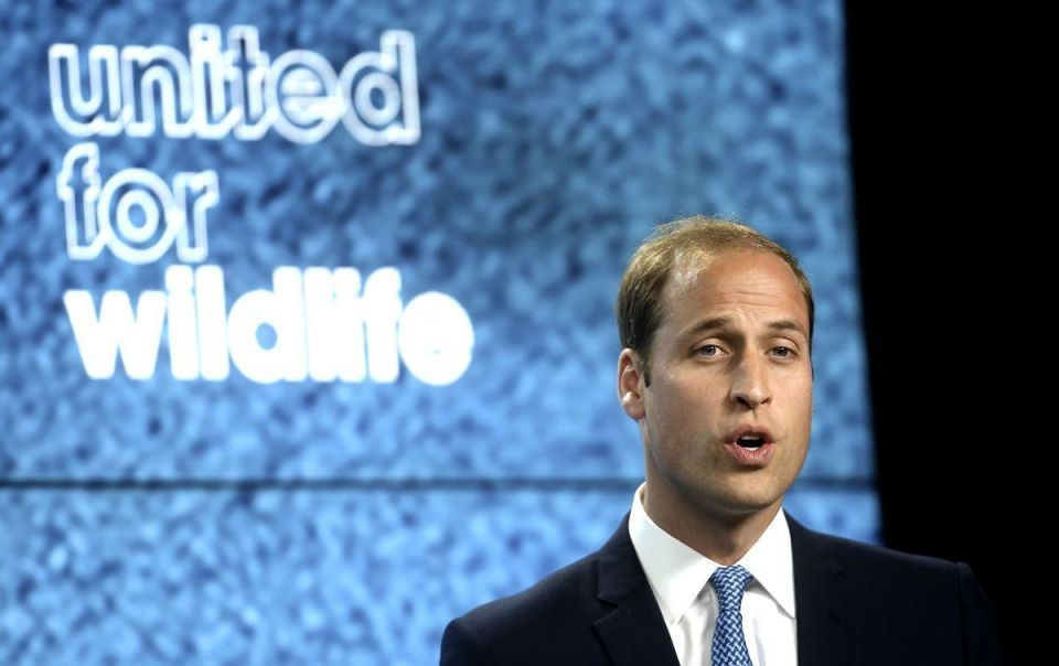 Prince William launched United For Wildlife Campaign