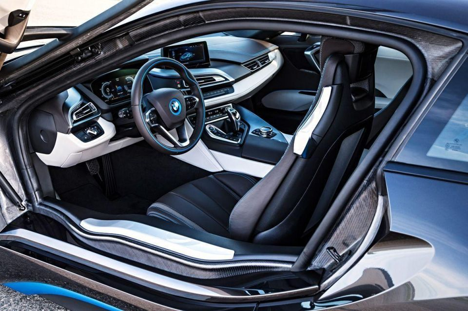 A closer look at the new BMW i8