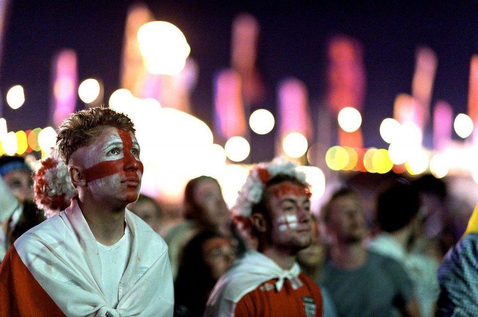 World Cup fans gather around the world