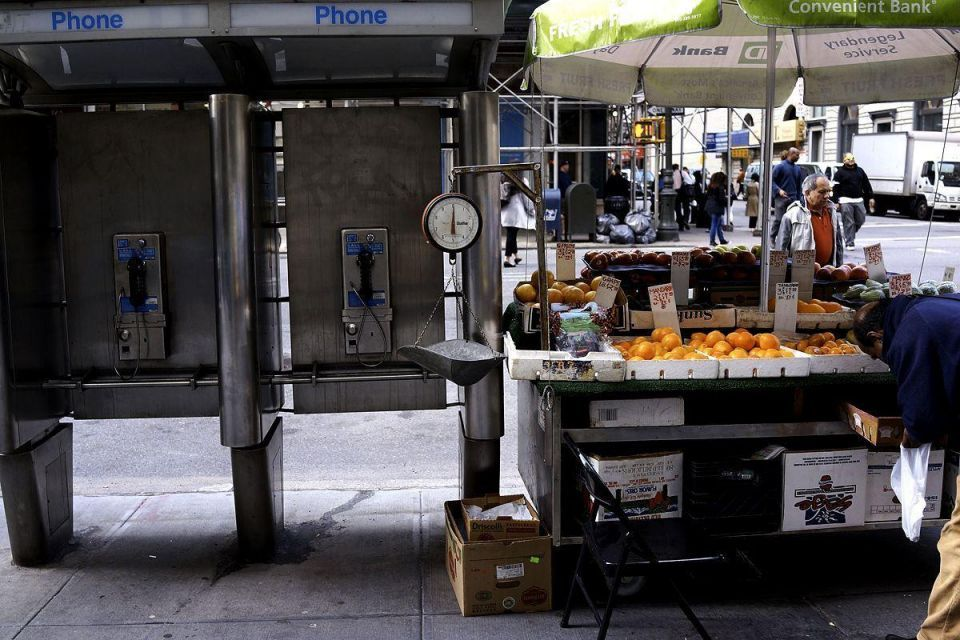 A slow farewell to the phone booth