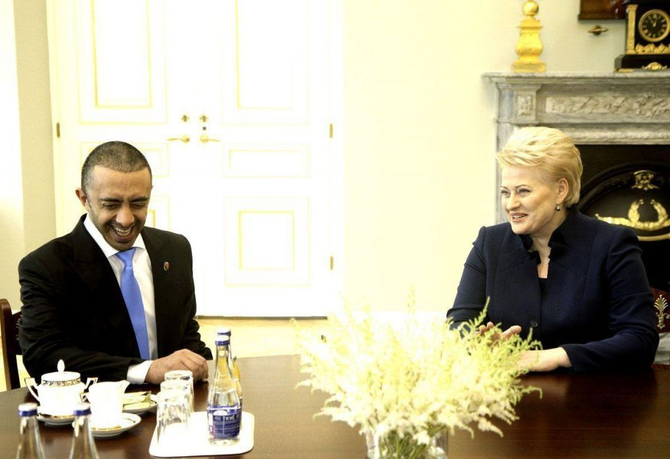 UAE Foreign Minister visits Lithuania