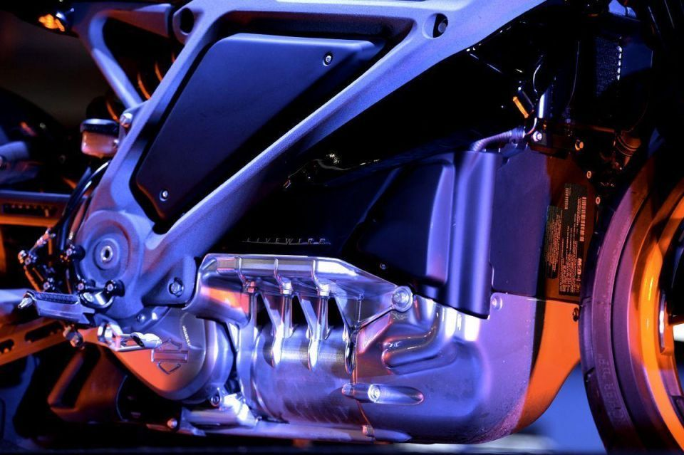 Harley Davidson's first electric bike