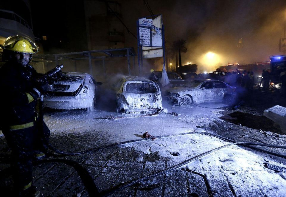 Suicide car bomber wounds 19 in south Beirut