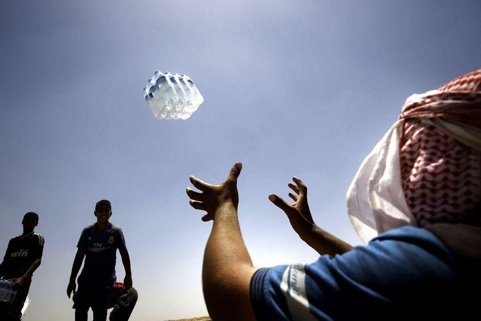 Iraqi refugees flee ISIS
