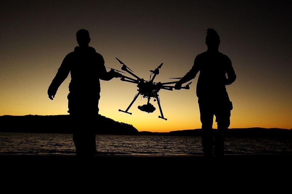 Ranger drone could help fight against rhino poaching