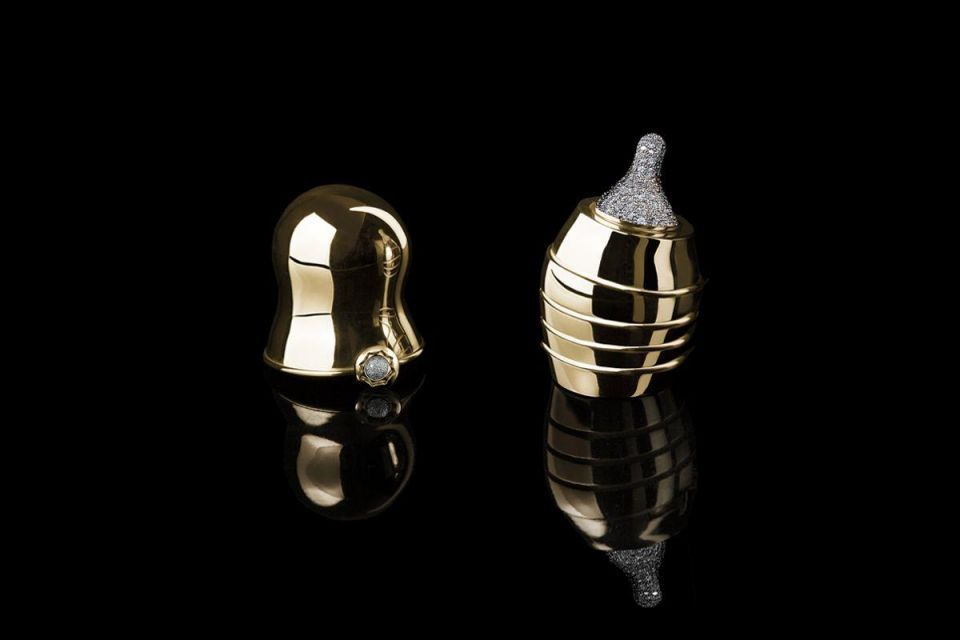 World's most expensive solid gold crib and pacifier on sale in Dubai