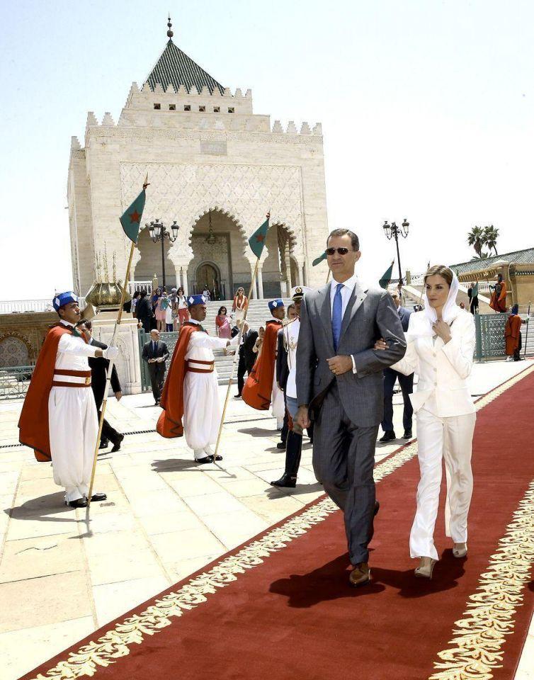 Spanish Royals visit Morocco